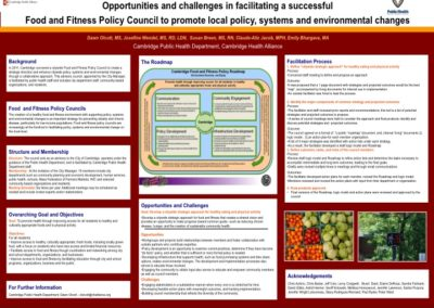 Cambridge Food and Fitness Policy Council