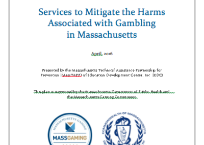 Prevention of Problem Gambling