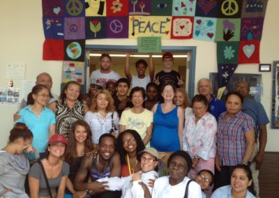 East Somerville Peace Quilt