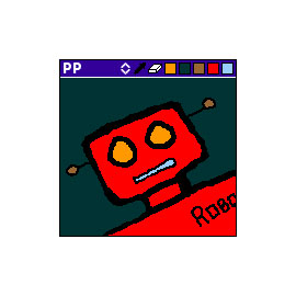 RoboPaint – Palm Pilot drawing app