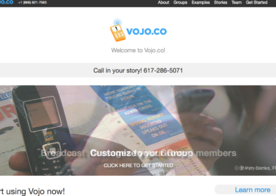 Vojo.co – MMS publishing platform